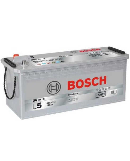 Μπαταρία BOSCH L5075 12V 140AH Deep Cycle